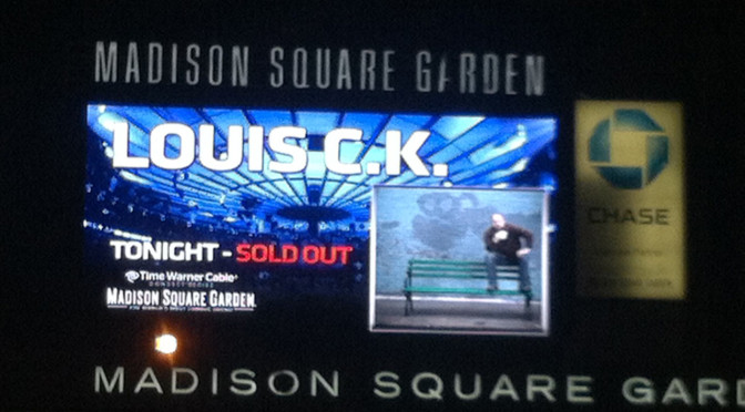 Louis CK at MSG