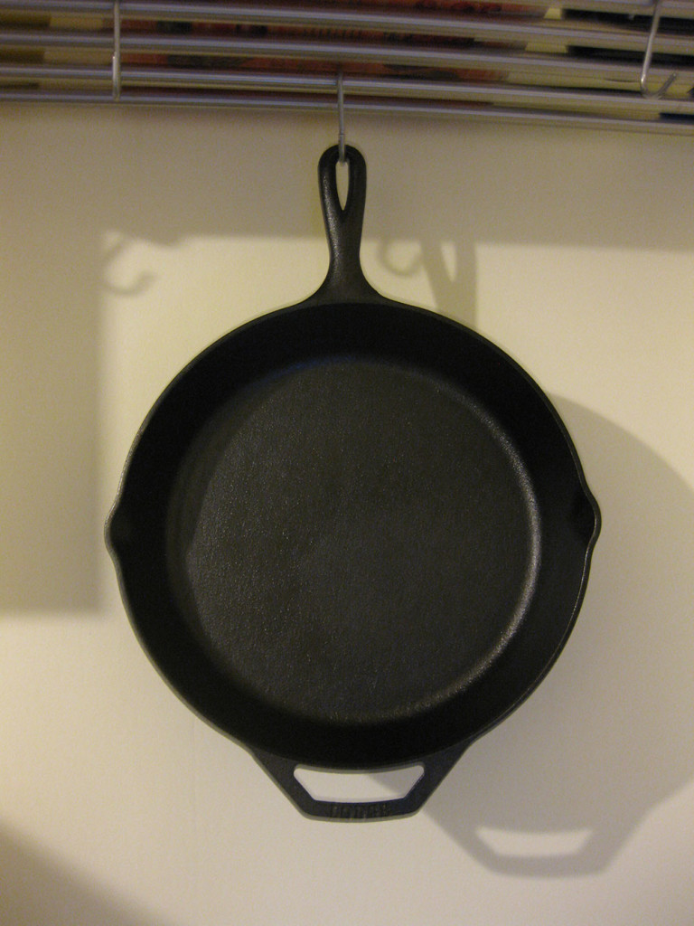 Your pan is ready to go.